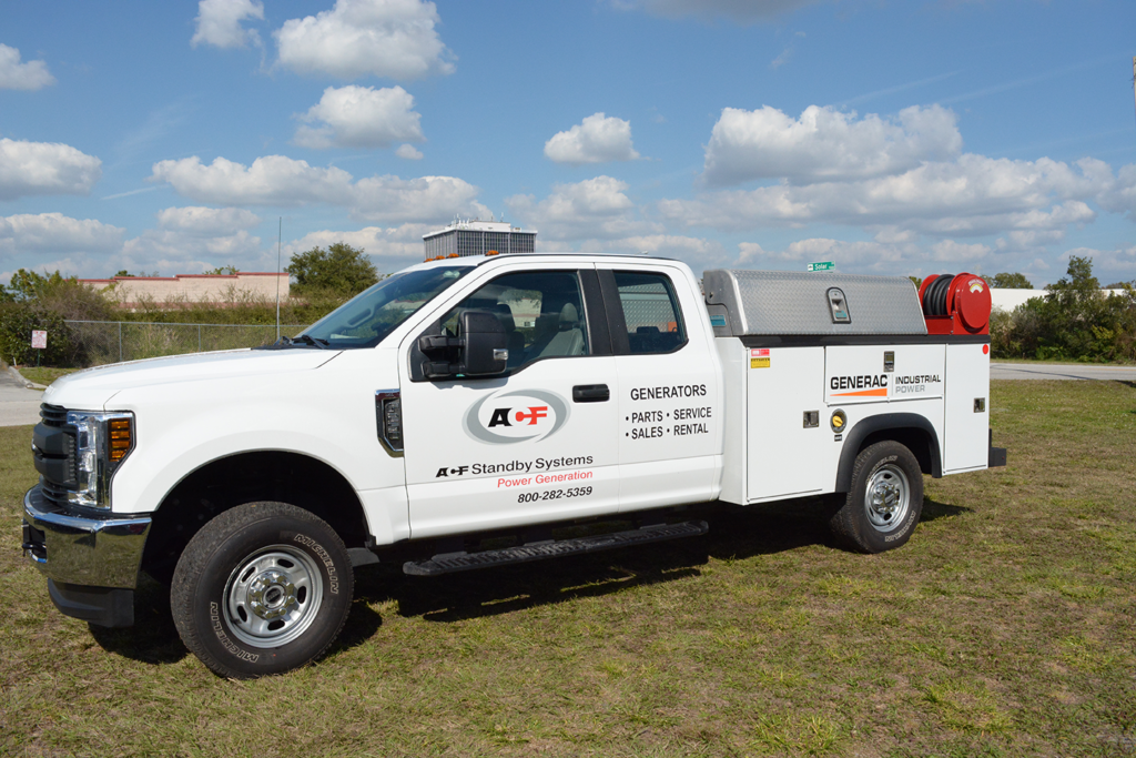 ACF Standby Systems Service Truck