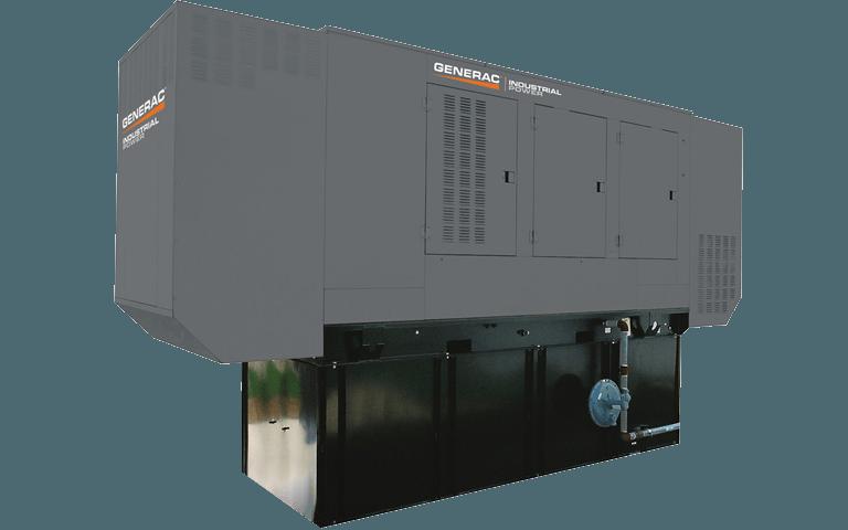 Bi-Fuel Industrial Generator